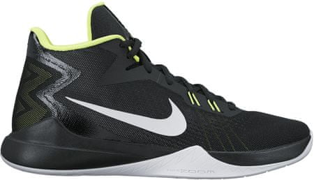 Nike moški športni copati Zoom Evidence Basketball, črno-zeleni, 47