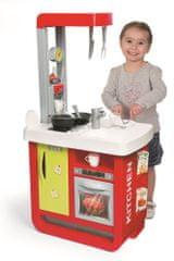 Smoby Bon Appetit játékkonyha, fekete-piros