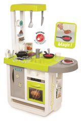 Smoby Kuchyňka Bon Appetit Cherry zeleno-šedá, elektronická