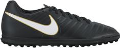 Nike moški športni copati za dvoranski nogomet TiempoX Rio IV TF, črno-beli