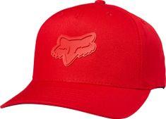 FOX moška kapa rdeča Heads up