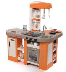 Smoby Kuchynka Tefal Studio XL Bubble oranžovo-šedá, elektronická