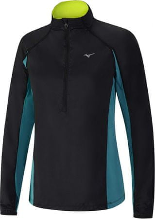 Mizuno Static BT Windtop W/Black/Tile Blue M