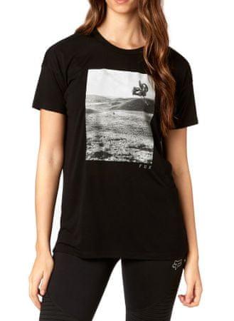 FOX ženska majica Picogram ss L črna