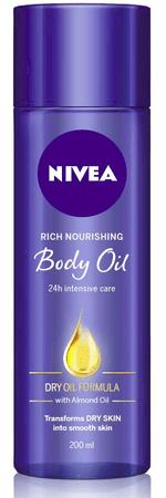 Nivea olje za telo Body Oil, 200 ml
