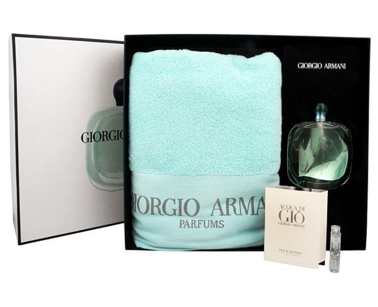 Giorgio Armani Acqua Di Gioia - EDP 100 ml + EDT 1,5 ml + ručník