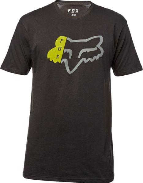 FOX pánské tričko Zerio ss premium XL černá