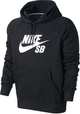 Nike SB Icon PO Hoodie Black/White L
