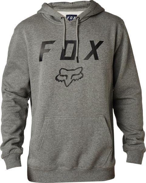 FOX pánská mikina Legacy moth M šedá