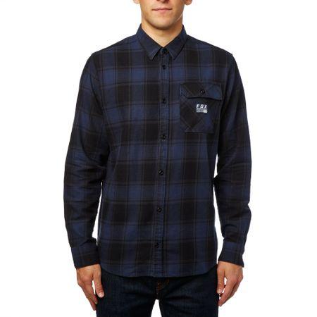 288a8bf9ea7 FOX pánská košile Voyd flannel M modrá - Parametry