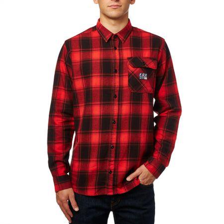 1637fdc1bfd FOX pánská košile Voyd flannel XL červená