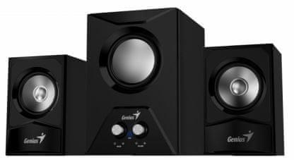 Genius zvočniki SW-2.1 385, črni
