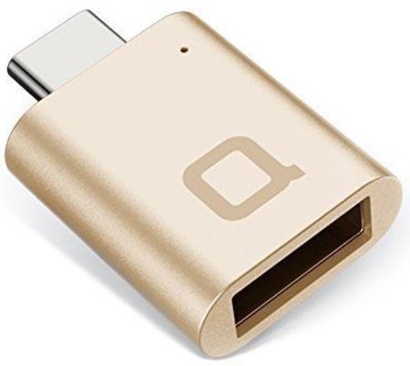 Nonda mini adaptér USB C na USB 3.0 A, zlatá