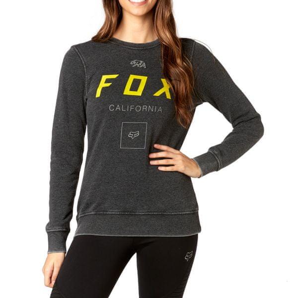 Fox dámská mikina M černá