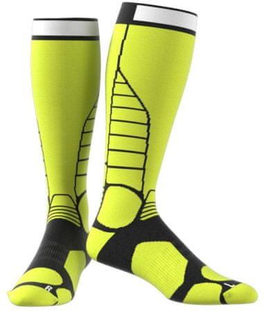 Adidas TX Skitour Sock Semi Solar Yellow/Green 37-39