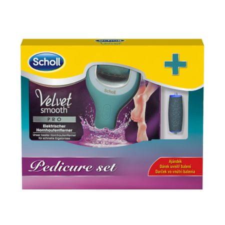 Scholl Velvet Smooth Pro Elektromos talpreszelő + ajándék érdes görgőfej