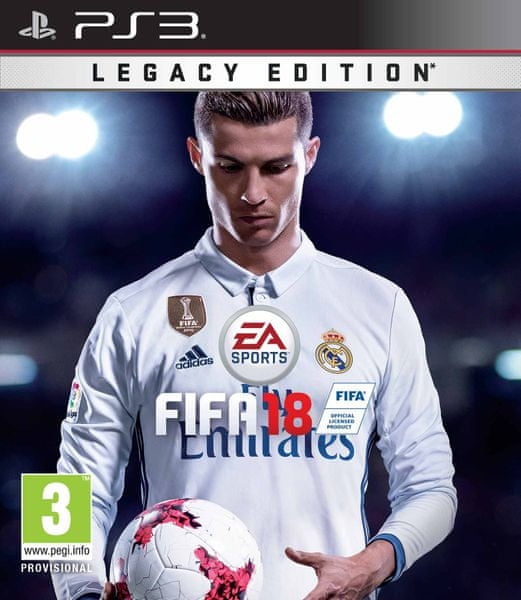 EA Sports Fifa 18 Legacy Edition / PS3