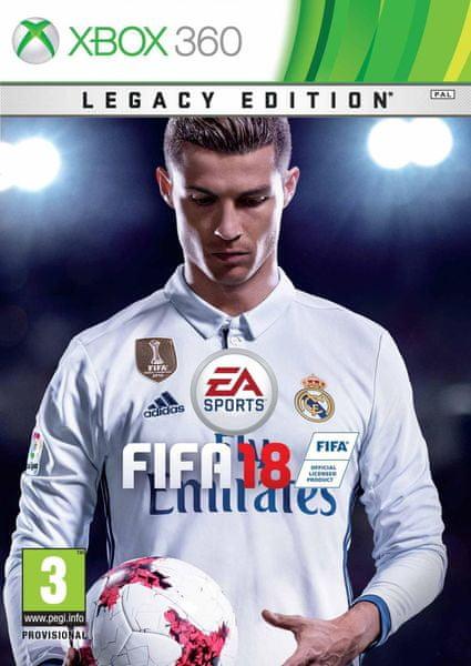 EA Sports Fifa 18 Legacy Edition / Xbox 360