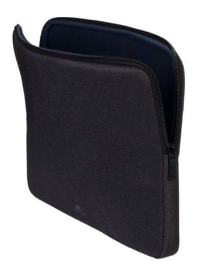 "RivaCase Laptop tok 13,3"", sleeve 7703-B, fekete"