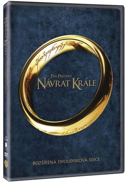 Pán prstenů: Návrat krále - rozšířená edice (2DVD) - DVD