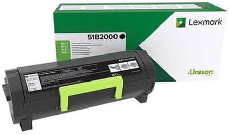 Lexmark toner za MS/MX317,417,517, 2500 strani (51B2000)