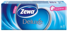 Zewa Deluxe Papír zsebkendő normál, 3 rétegű, 10 x 10 db