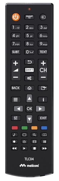 Meliconi TLC04, univerzální ovladač TV Philips