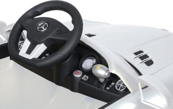 Buddy Toys Bec 7110 El.auto Mercedes SLS bílá