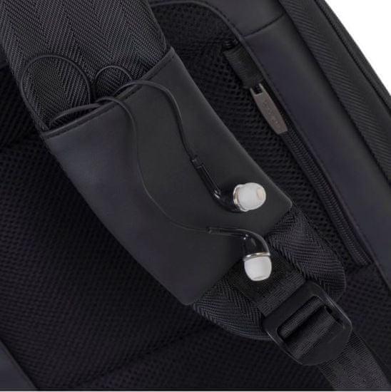 RivaCase 8125 14.0 nahrbtnik za prenosnik, 35,6 cm, črn