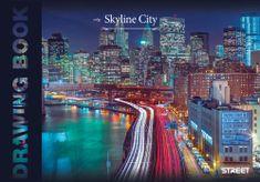 Street risalni blok City Skyline, A3, 20 listov