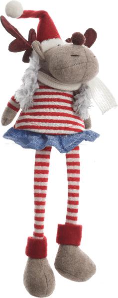 Kaemingk Vánoční figurka sob/holka 21 cm