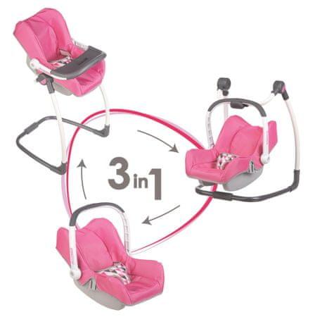 Smoby avtosedež, stolček in gugalnik Maxi Cosi 3v1