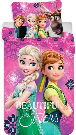 B.E.S. Petrovice povlečení Frozen beautiful sisters