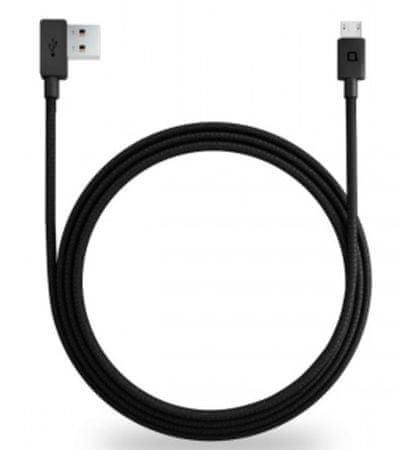 Nonda ZUS Micro USB kábel, fekete