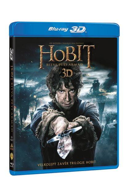 Hobit: Bitva pěti armád 3D+2D (4BD) - Blu-ray