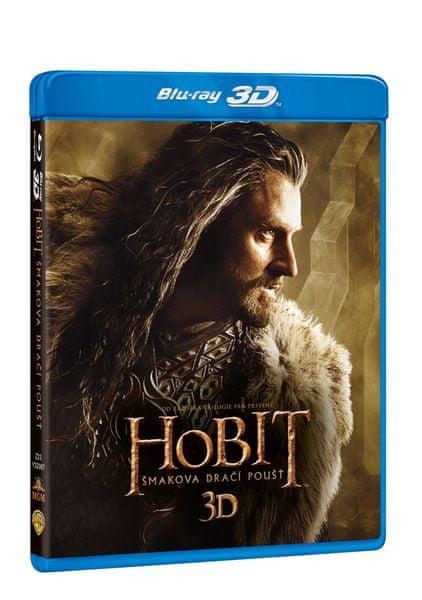 Hobit: Šmakova dračí poušť 3D+2D (4BD) - Blu-ray