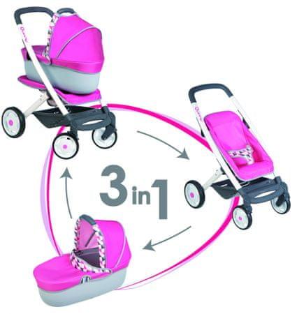 Smoby voziček komplet Maxi Cosi 3 v 1