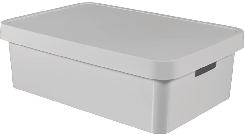 Curver Úložný box Infinity 30 l, šedá