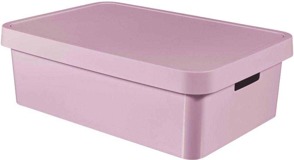 Curver Úložný box Infinity 30 l, růžová