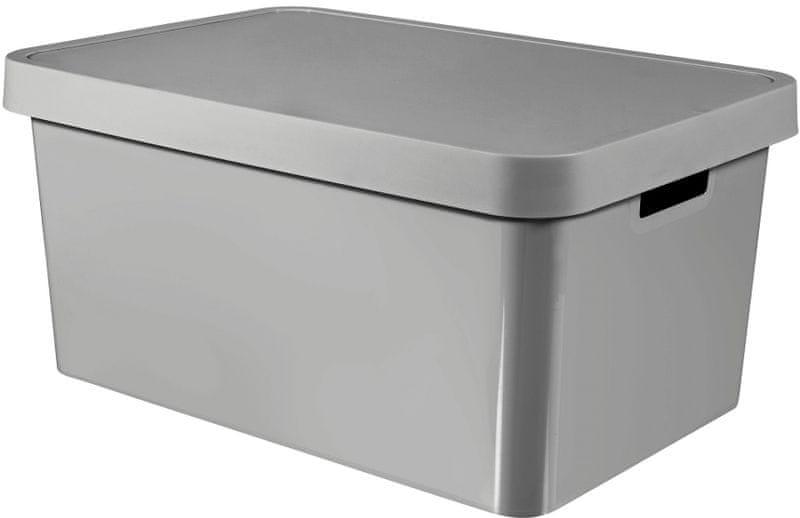 Curver Úložný box Infinity 45 l, šedá