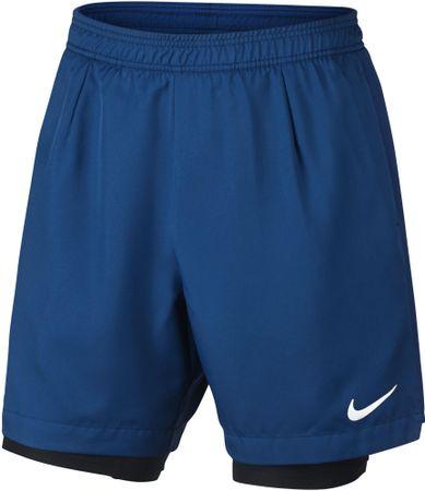 Nike spodenki tenisowe M NKCT DRY SHORT BASELINE RIB M