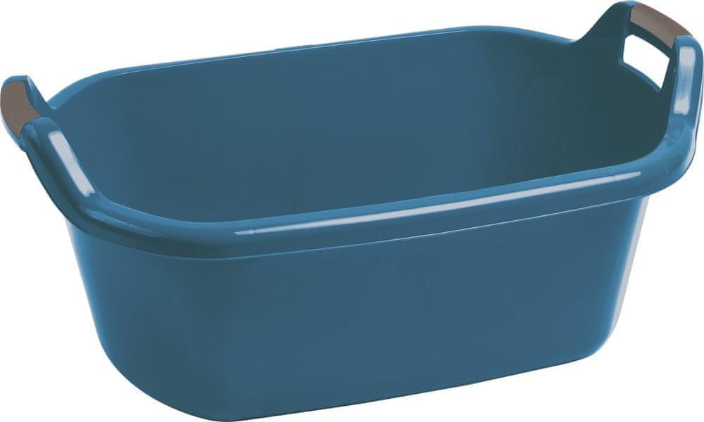 Curver Vanička oválná s uchy 55 l, modrá