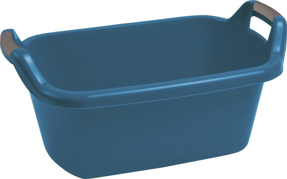Curver Vanička oválná s uchy 35 l, modrá
