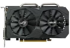 Asus Rog Strix Radeon RX 560 OC edition, 4 GB Aura