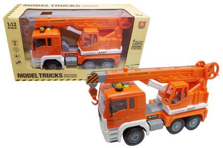 Unikatoy kamion dvigalo zvok 32cm