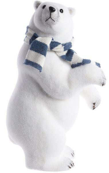Kaemingk Vánoční ozdoba lední medvěd 48 cm