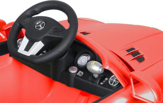 Buddy Toys BEC 7111 Elektrické autíčko Mercedes SLS - červené