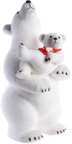 Kaemingk Vánoční ozdoba lední medvěd 59 cm