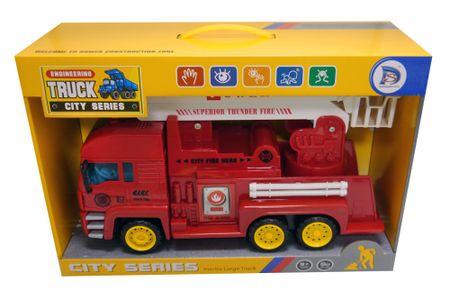 Unikatoy kamion gasilec z zvokom city 37 cm
