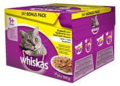 Whiskas Drůbeží výběr v želé BONUS 24pack
